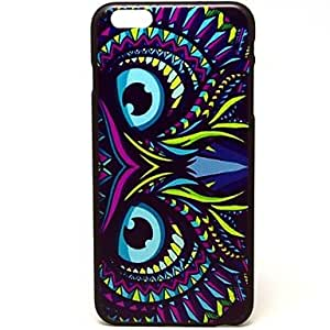 ZL Ink Owl Pattern Hard Case Cover for iPhone 6 Plus