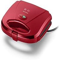 Sanduicheira e Mini Grill Multilaser Gourmet 127V 750W Vermelha - CE148