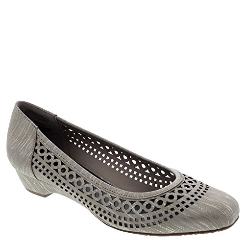 Ros Hommerson Tina Womens Slip On Taupe / Print