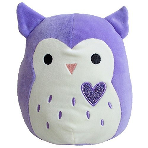Squishmallows Valentines Purple Harriet Owl Plush 8 inches - Limited Edition