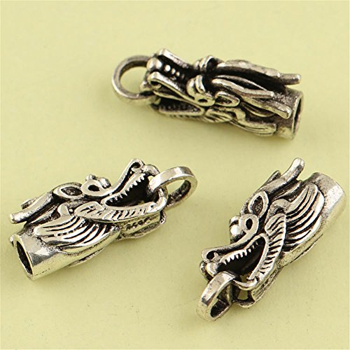 MFMei Tibetan Style Thai Silver Clasps, Jewelry Findings (CY256)