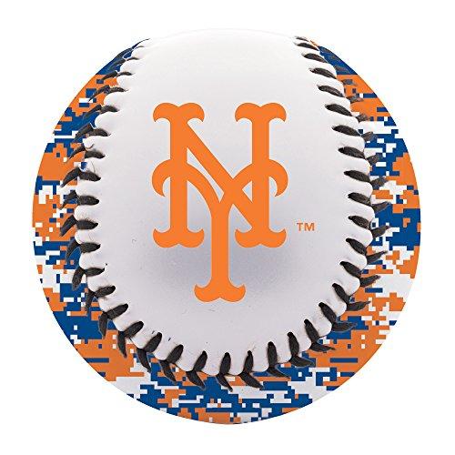 New York Mets Camo - Franklin Sports MLB New York Mets Camo Soft Strike Baseball