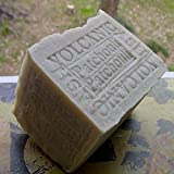 Large Aged 12oz Bar Soap - All Natural -Limited Volcanic Ash Soap- Cocoa Butter and Patchouli Bar Soap