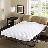 "Comfort Classics Frisco Microfiber Sofa Bed Pad White, 54 x 72"""