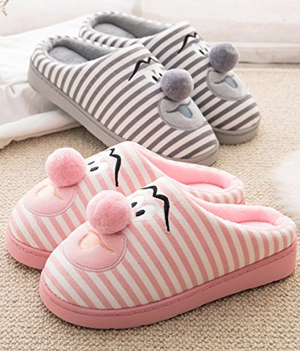 Grey 5In Hedgehog 15 Slippers House Dog Family Slippers Indoor Sole Waterproof Animal Cute Fuzzy Bedroom Slippers xOZwU6