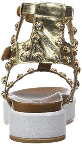 Inuovo 7417 - Sandalias de Gladiador Mujer dorado (Gold)