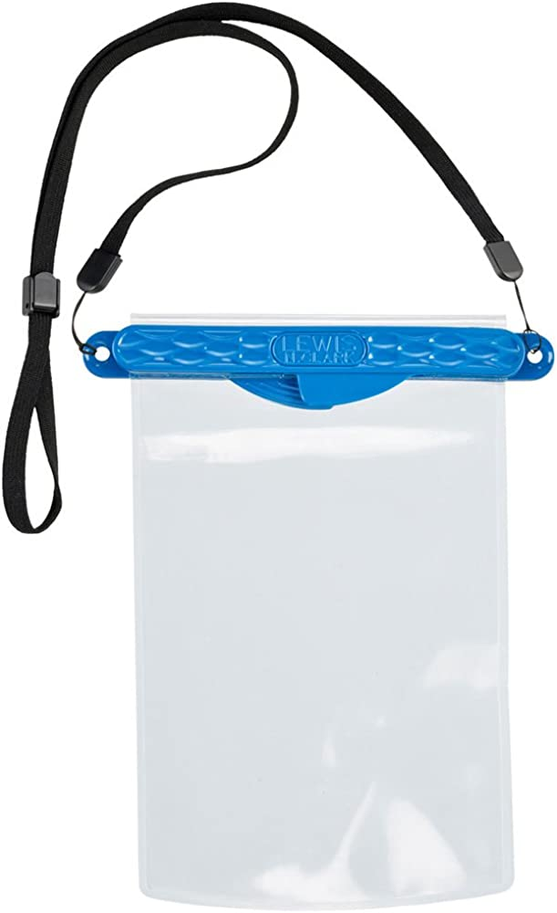 Waterseals Magnetic Self-Sealing Waterproof Pouch + Dry Bag for Cell Phone or Tablet, Great for Kayak, Canoe, Pool or Beach