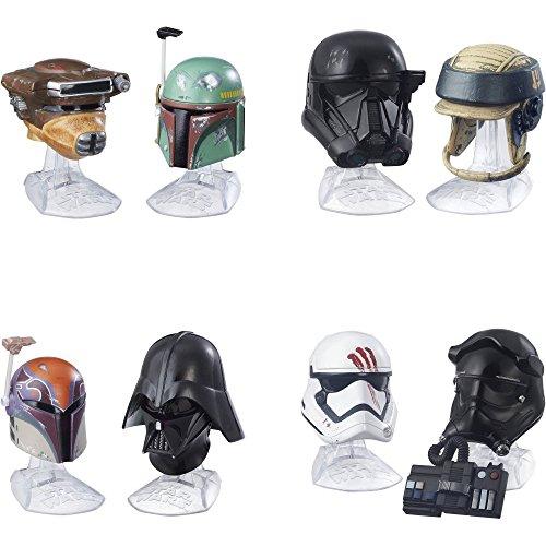 Star Wars Black Series Die-Cast Metal Helmets Wave 4 Set of 4