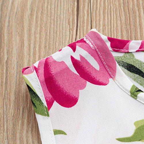 Princesse Pour Tutu Robes Col Soirée Rond Fille Mignon À Fleuri Rose Mode De Filles Adeshop Sans Imprimé Manches Robe Party Élégant Décontractée wRqzUUHS