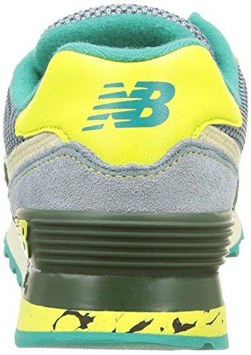 Sport Balance Life Running New Sneaker Cordones Green Dark Style Mujer qBU4fITw
