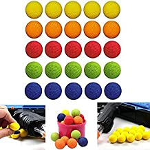 Croppycute Rounds Refill Compatible Bullet Balls Pack Guns Blasters Nerf Rival Apollo Zeus Toy