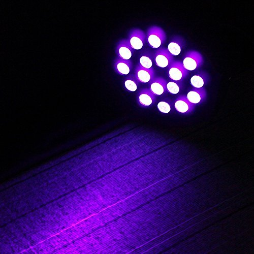 DeepDream 18W UV Black Light DJ Stage Light Par Lamp Auto Lighting Voice Control for Party Wedding Disco Club with Control by Deep Dream (Image #3)