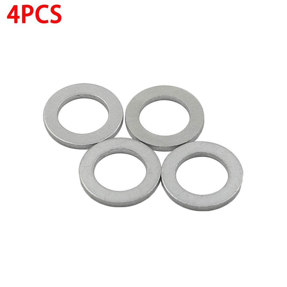 100PCS Motoparty Oil Drain Plug Gasket For Honda Accord Civic CRV CRZ Crosstour HRV Odyssey Pilot Prelude Ridgeline Insight Wagovan S2000 Oil Crush Washers, 94109-14000