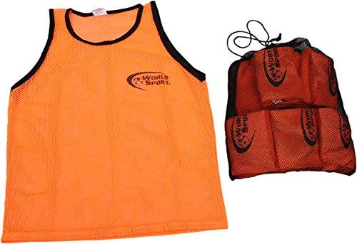10 Formation à maille Lot Orange linge avec de Monde transport Sport de un en sac nbsp;bavoirs qPBxXt0