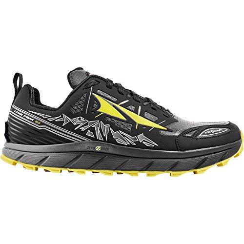 Altra Lone Peak Zapato de Neo bajo 3.0-Hombre Negro / Amarillo