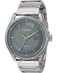 Citizen Mens BM6980-59H Drive Analog Display Japanese Quartz Silver Watch