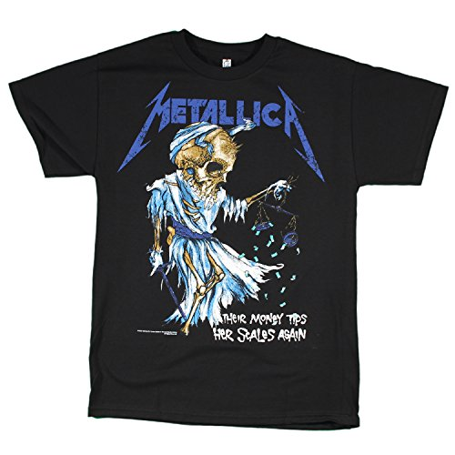 Official Metallica Doris Scales T-shirt - S to XL