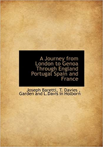 Book A Journey from London to Genoa Through England Portugal Spain and France