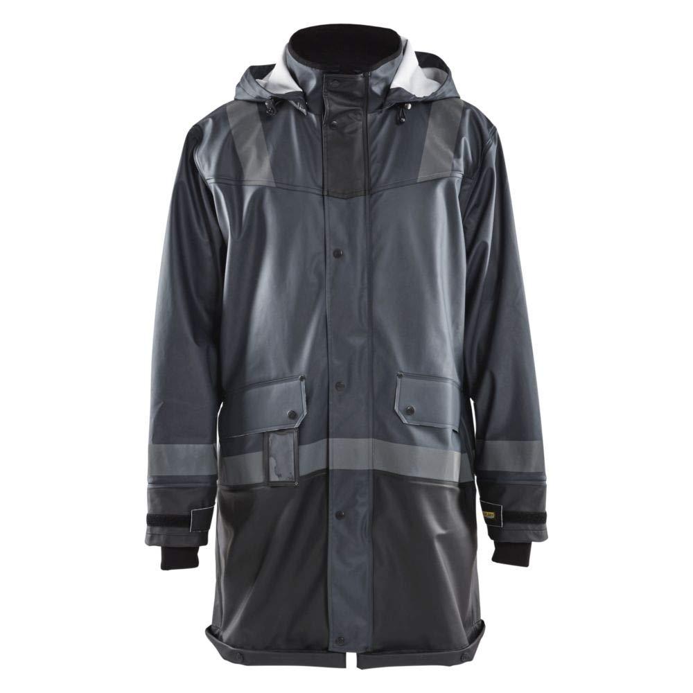 gris Foncé   Noir M Blaklader Manteau de Pluie étanche BiCouleure Niveau 2