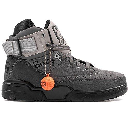 Patrick Ewing Athletics Ewing 33 HI Mens Basketball Shoes 1EW90111-050 Graydient Black 44 M EU 10 D(M)