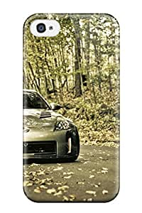 Premium Durable Nissan Fashion Tpu Iphone 4/4s Protective Case Cover