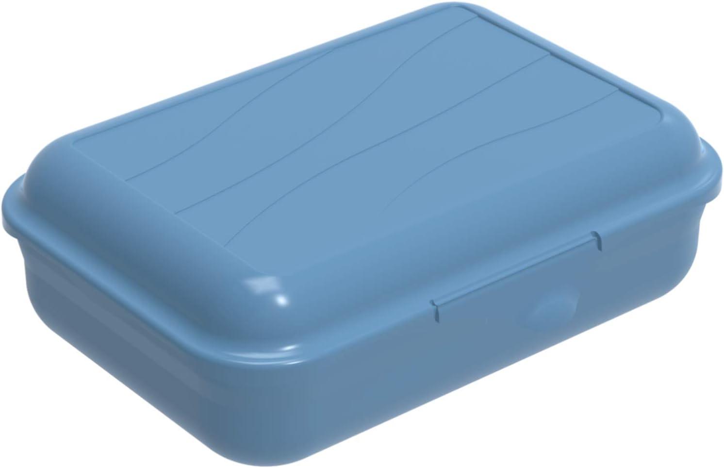 Lata Vesper 0.9l con partici/ón removible azul S 0.9l 17.7 x 12.9 x 6.0 cm Rotho Fun Pl/ástico PP sin BPA