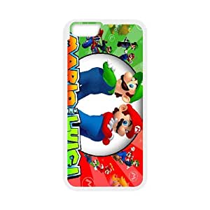 Super Mario Bros Phone Case And One Free Tempered-Glass Screen Protector For iPhone 6,6S 4.7 Inch Z58254