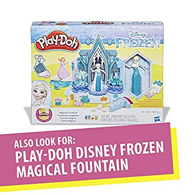 Play-Doh Sparkle Kingdom 3-in-1 Disney Princess Toy Castle with 4 Non-Toxic Colors, 2-Ounce Cans: Toys & Games