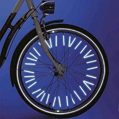 StickersLab - Cubreradios reflectantes para bicicleta, 24 unidades: Amazon.es: Bricolaje y herramientas