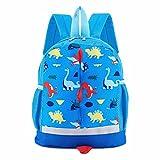 Cheap SUNVP Toddler School Bag Shoulder Bag Handbag Cartoon Dinosaur Kids Book Bags Children Small Backpack Daysack For Girls Boys (Blue Dinosaur)
