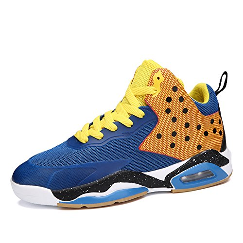 orange Town No Basketball Shoes Trainers Blue Running 66 Performance Shoes Shock Air Absorption Men's AxqOfp