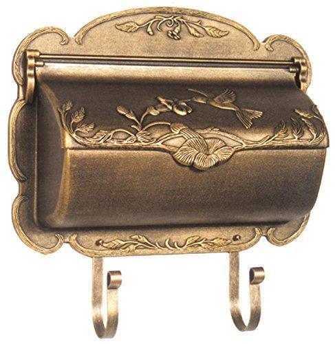 - Special Lite Products SHB-1004-BRZ Hummingbird Horizontal Mailbox, Bronze