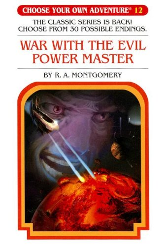 Download War With The Evil Power Master (Choose Your Own Adventure #12) pdf