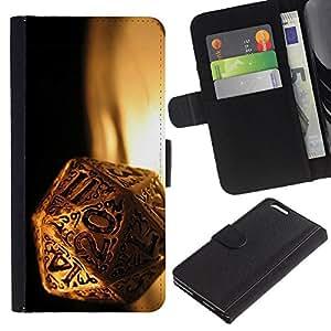 UNIQCASE - Apple Iphone 6 PLUS 5.5 - Magic Dice - Cuero PU Delgado caso cubierta Shell Armor Funda Case Cover