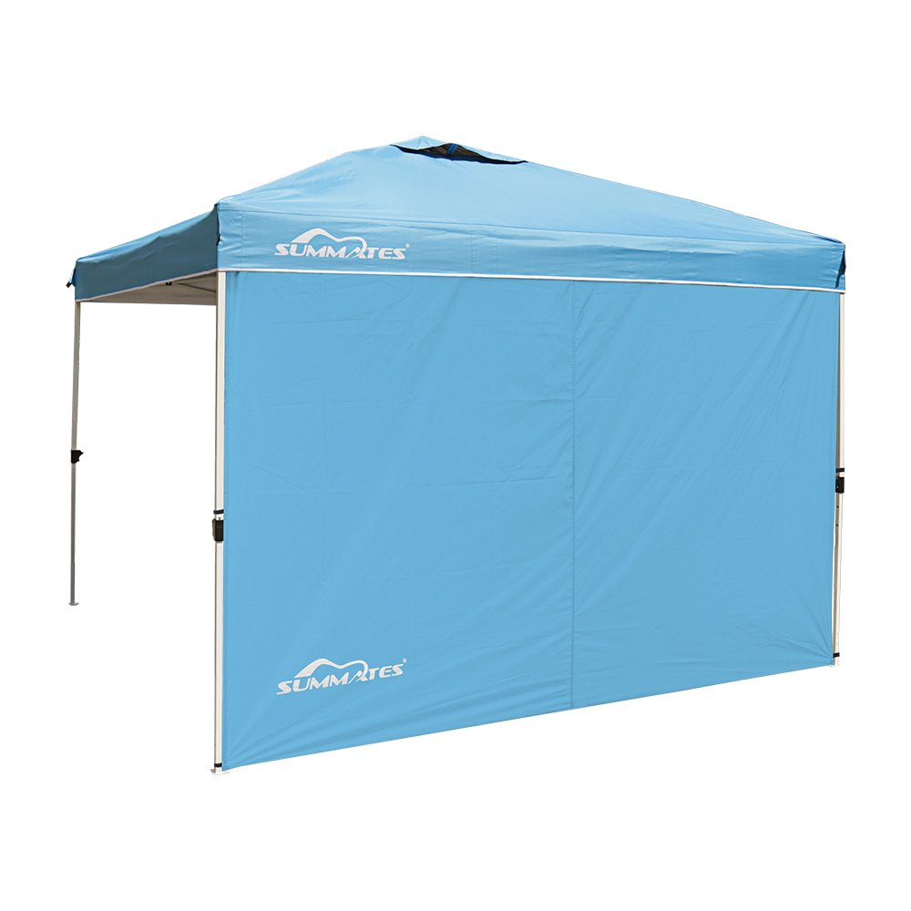 Summates Side Wall for 10X10ft Instant Canopy,Pop Up Canopy,Booth Canopy Without Frames And Canopies (Side Wall, Light Blue)