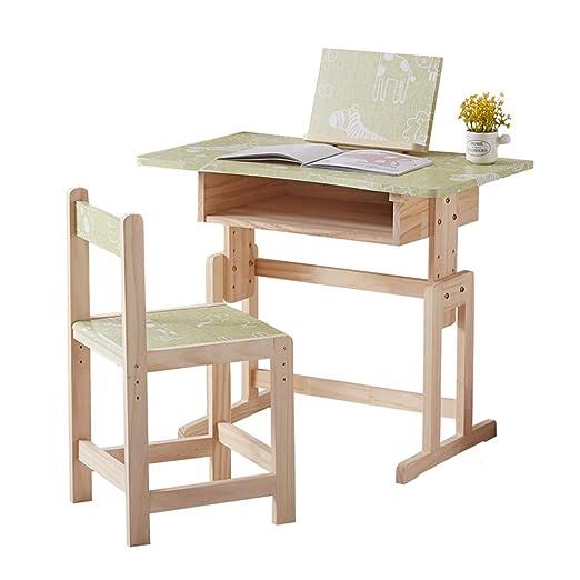 Juegos de mesas y sillas Mesa de estudio y silla mesa de estudio ...