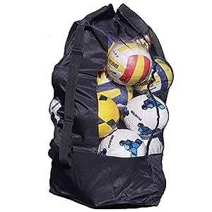 SUBZHAOYI 10-15 - Bolsa de Red para balón de fútbol (tamaño ...