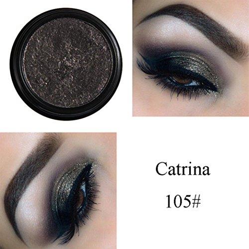LtrottedJ PHOERA Glitter Shimmering Colors Eyeshadow, Meta