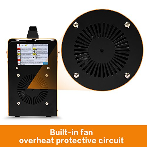 MIG 130 Welder Flux Core Wire Automatic Feed Welding Machine w/ Free Mask by Goplus: Amazon.es: Bricolaje y herramientas