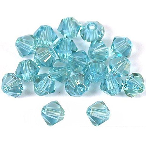 20 Alexandrite Bicone Swarovski Crystal Beads 5301 4mm