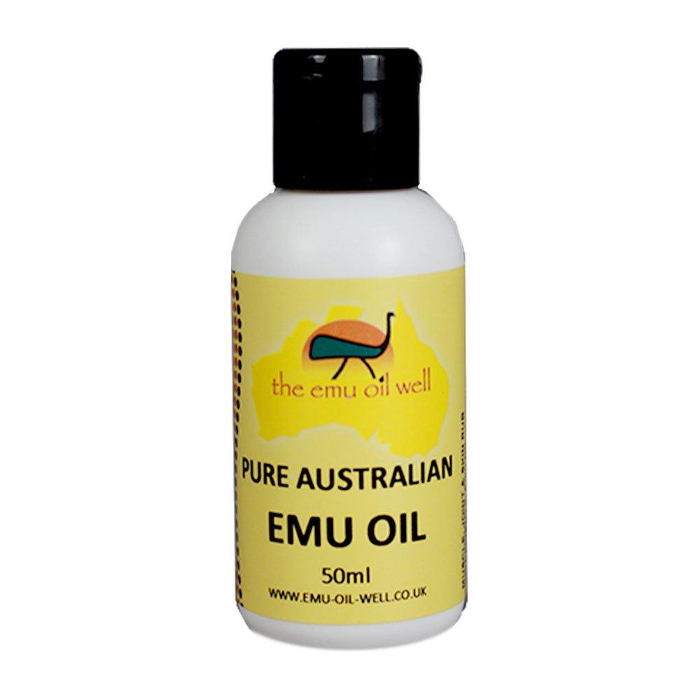 100 Pure Australian Emu Oil 50ml Certified Triple Refined ...