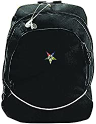 Order Of Eastern Star Backpack w/ White Piping