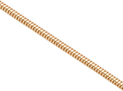 1M 2mm 18K gold plated Snake Chain,Tiny Snake Chain Raw Brass Chain Findings chain brass 1AGC10 Round Snake Chain