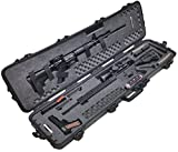 Case Club Pre-Made Waterproof 2 AR Rifle Case with Silica Gel & Accessory Box