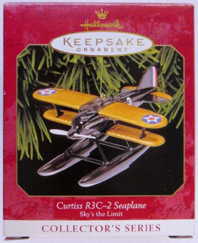 Hallmark Keepsake Ornament - Curtiss R3C-2 Seaplane, Sky'...