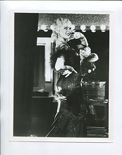 """MOVIE PHOTO: Mae West 7""""x9"""" Black and White Promo Still Ann Jillian FN"""