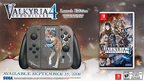 Valkyria Chronicles 4  Launch Edition   Nintendo Switch