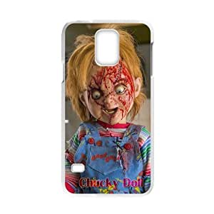 Snap-on horrible Cartoon Character Chucky Doll Design Hard Plastic Durable Back Case Shell for Samsung Galaxy S5 Laser case-4
