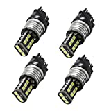 WerFamily 3157 3156 High Power 15 SMD 2835 Super White LED Light Bulbs For RV SUV MPV Car Turn Signal Parking Brake Light Tail Lamps 3057 3056 (Pack of 4)