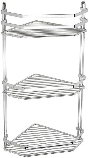 Billiger Preis Duschregal Badregal 3 Etagen Duschablage Duschkorb Chrom Bequem Zu Kochen Möbel & Wohnen